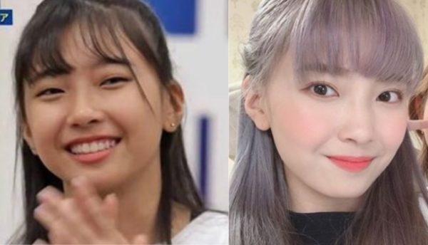 マユカの目の比較