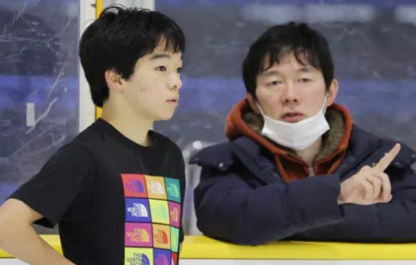 鍵山正和さんと鍵山優真選手