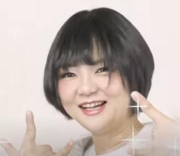 ギャル風メイクの岩倉里美