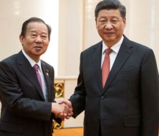 二階俊博と中国の習近平