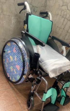 福原千代の車椅子