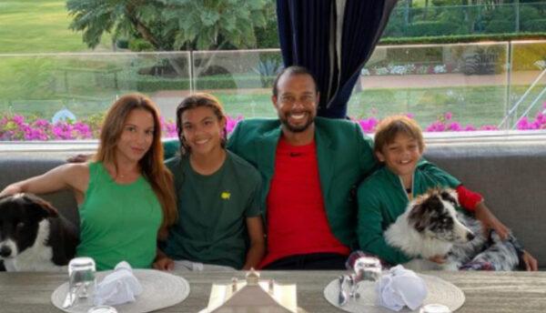 タイガーウッズの家族