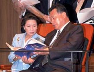 森喜朗と千恵子