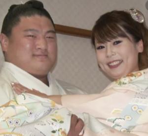大西愛の結婚式の様子