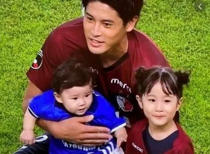 内田篤人と子供