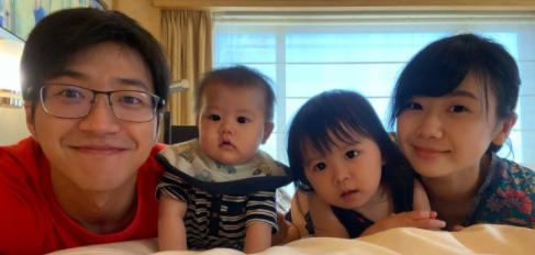 福原愛の家族写真