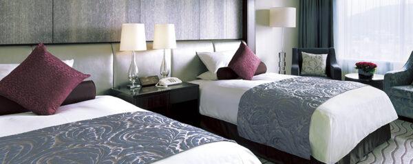 京都ホテルオークラのエグゼクティブフロアの客室