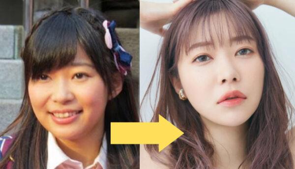 指原莉乃の顔の変化