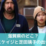 【滋賀のどこ?】芝田璃子とニコラスケイジの出会いは?馴れ初めを調査!
