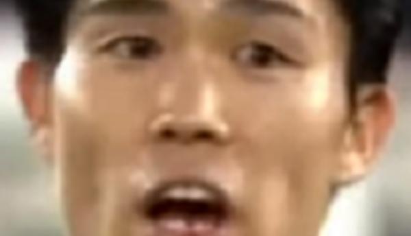 冨安選手の歯が欠けた画像