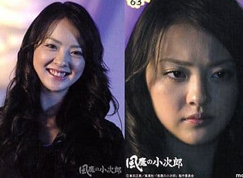 岡本奈月が風魔の小次郎、夜叉姫役の画像