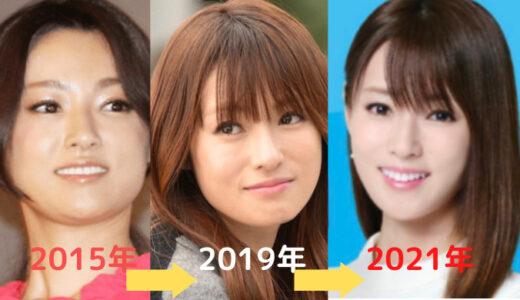 深田恭子が痩せすぎ?顔がやつれた?太っていた頃の画像と比較!