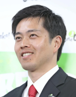 吉村知事が初当選した時