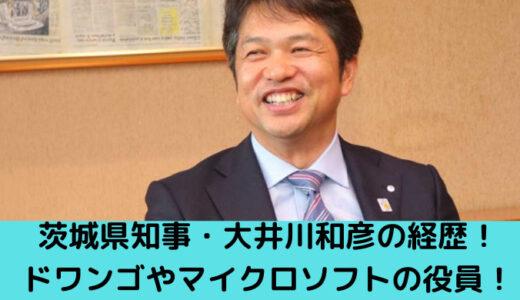 茨城県知事・大井川和彦の経歴がヤバい!ドワンゴやマイクロソフトの役員!