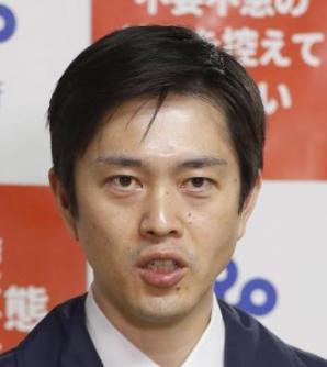 吉村知事のやつれた顔