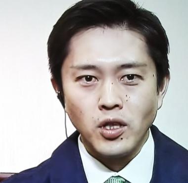 吉永知事のやつれた顔