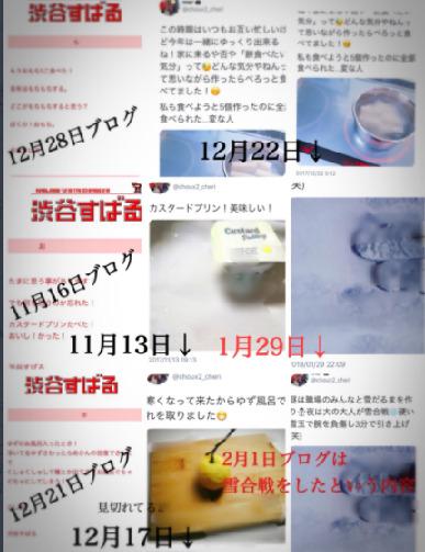 渋谷すばるのブログの前にTwitterで同じ投稿があった