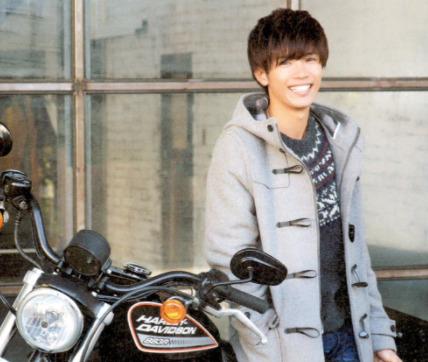 神宮寺勇太とバイク