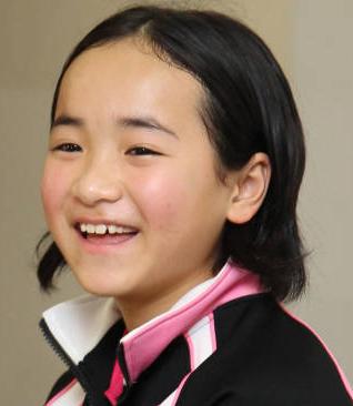 小学生の伊藤美誠