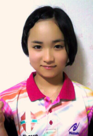 中学生の伊藤美誠