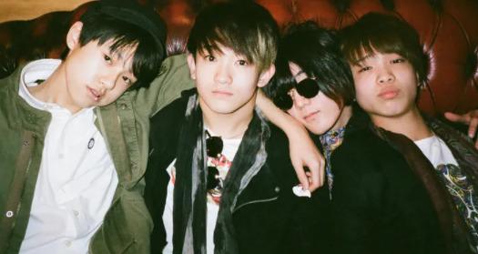 小山田米呂のバンド集合写真