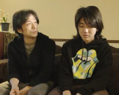 紀平凱成と父