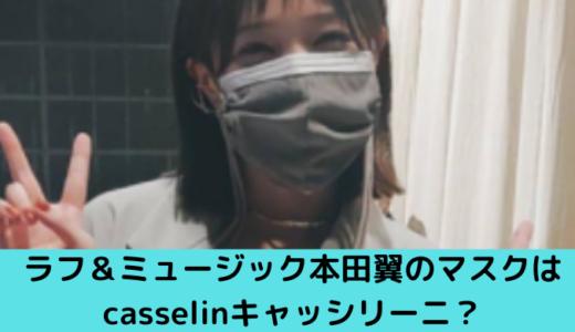 本田翼のマスク姿