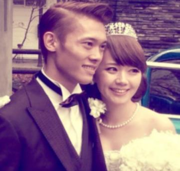 竹内択と嫁の結婚式の様子