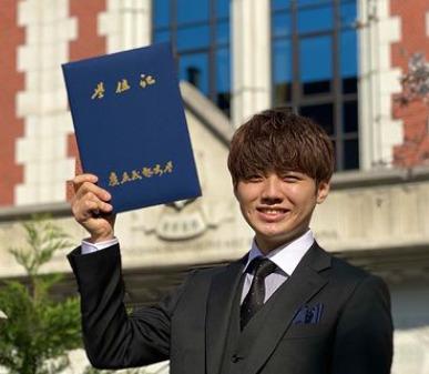 りゅうがが慶應大学卒業したインスタ