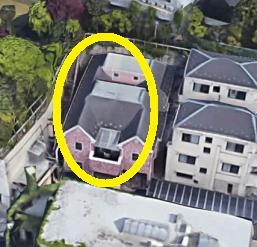 堀ちえみの家航空写真
