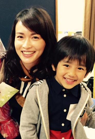 長谷川京子と男の子