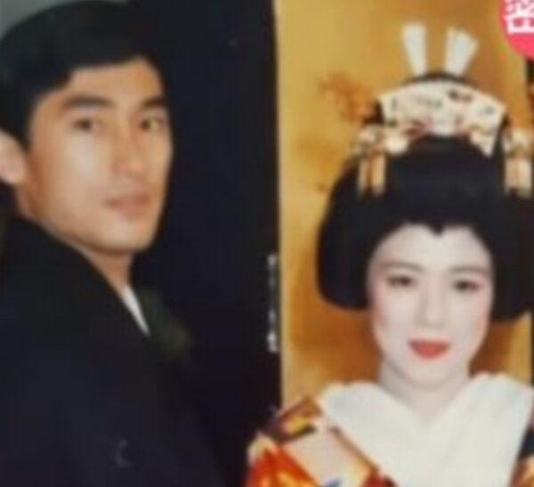 岸田文雄と裕子夫人結婚式