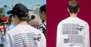 ジミン 原爆Tシャツ
