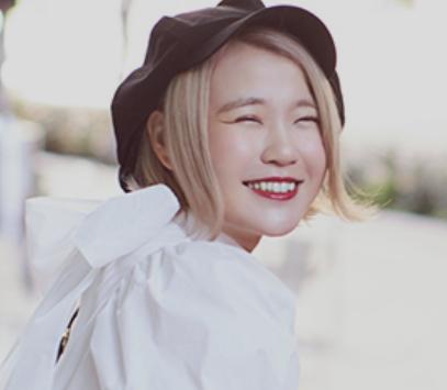 ハラミちゃんの笑顔