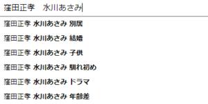 窪田正孝と水川あさみ
